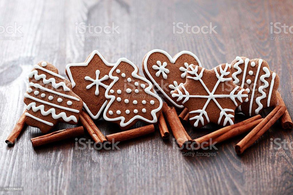 cinnamon cookies royalty-free stock photo