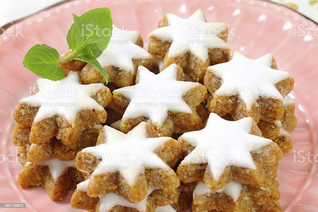 Cinnamon Star Cookies Stock Photo Download Image Now Istock