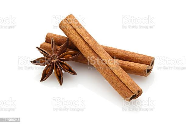 Cinnamon Sticks And Star Anise Stock Photo - Download Image Now