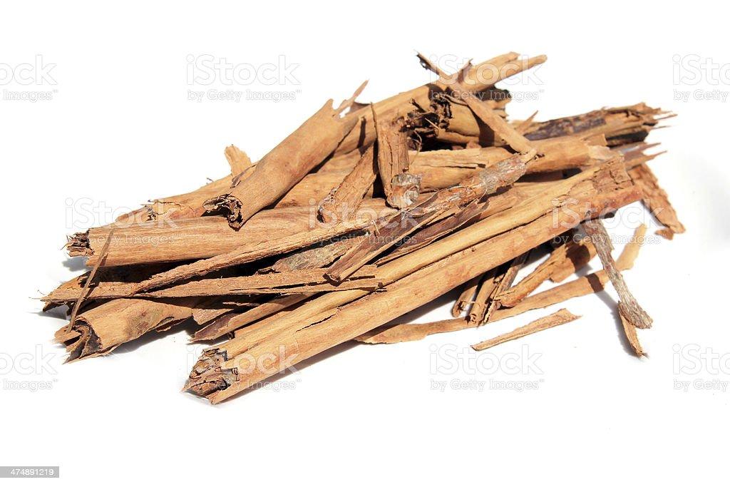 Cinnamon sticks stock photo