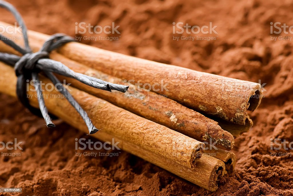 Cinnamon Sticks royalty-free stock photo