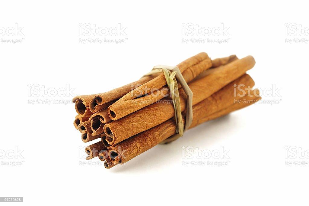 Cinnamon Sticks royalty-free stock photo