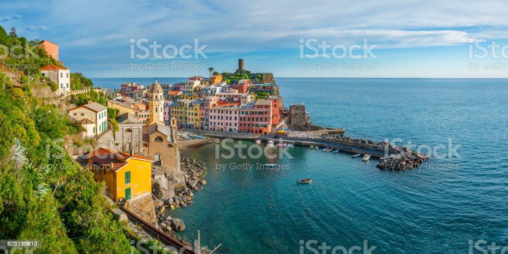 Cinque Terre, Liguria, Italy stock photo