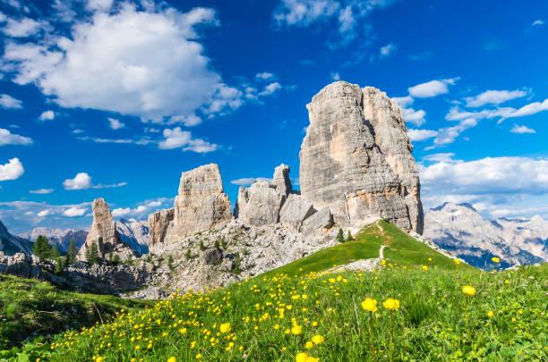 Cinque Torri, Dolomiti, Alpen, Italien – Foto