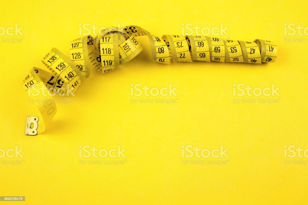 Cinta métrica stock photo