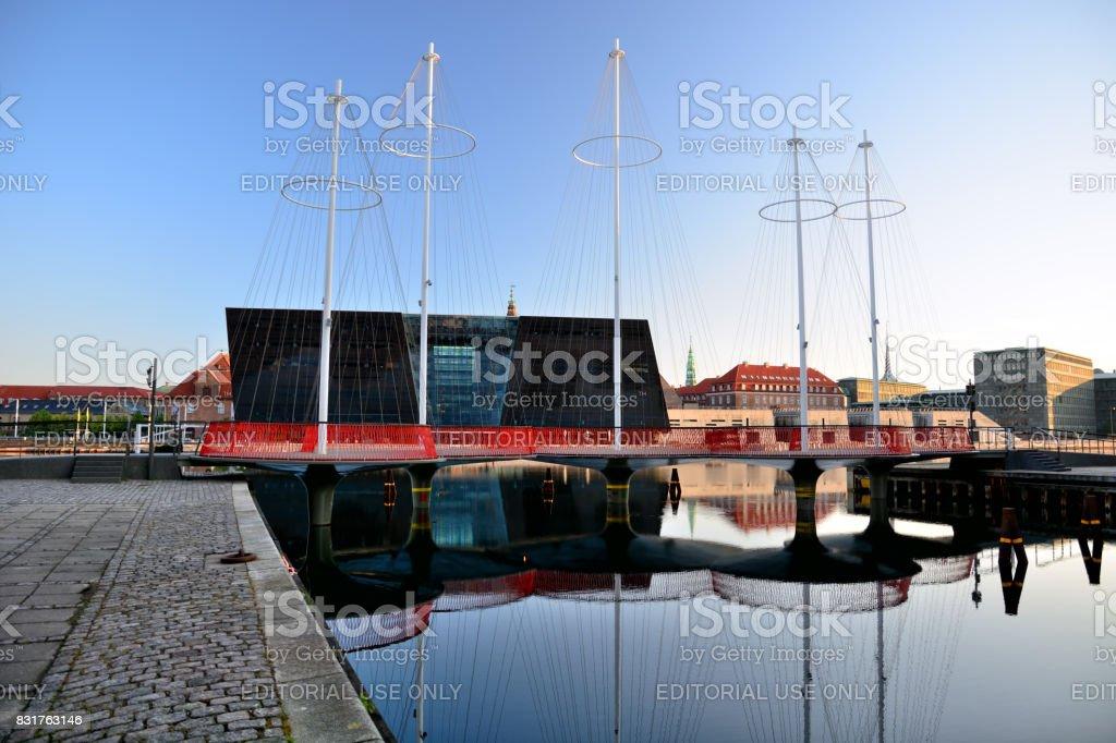 Circle Bridge, Copenhagen stock photo