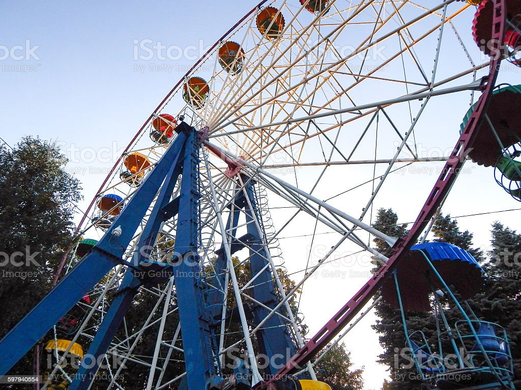 Circle Ferris... foto royalty-free