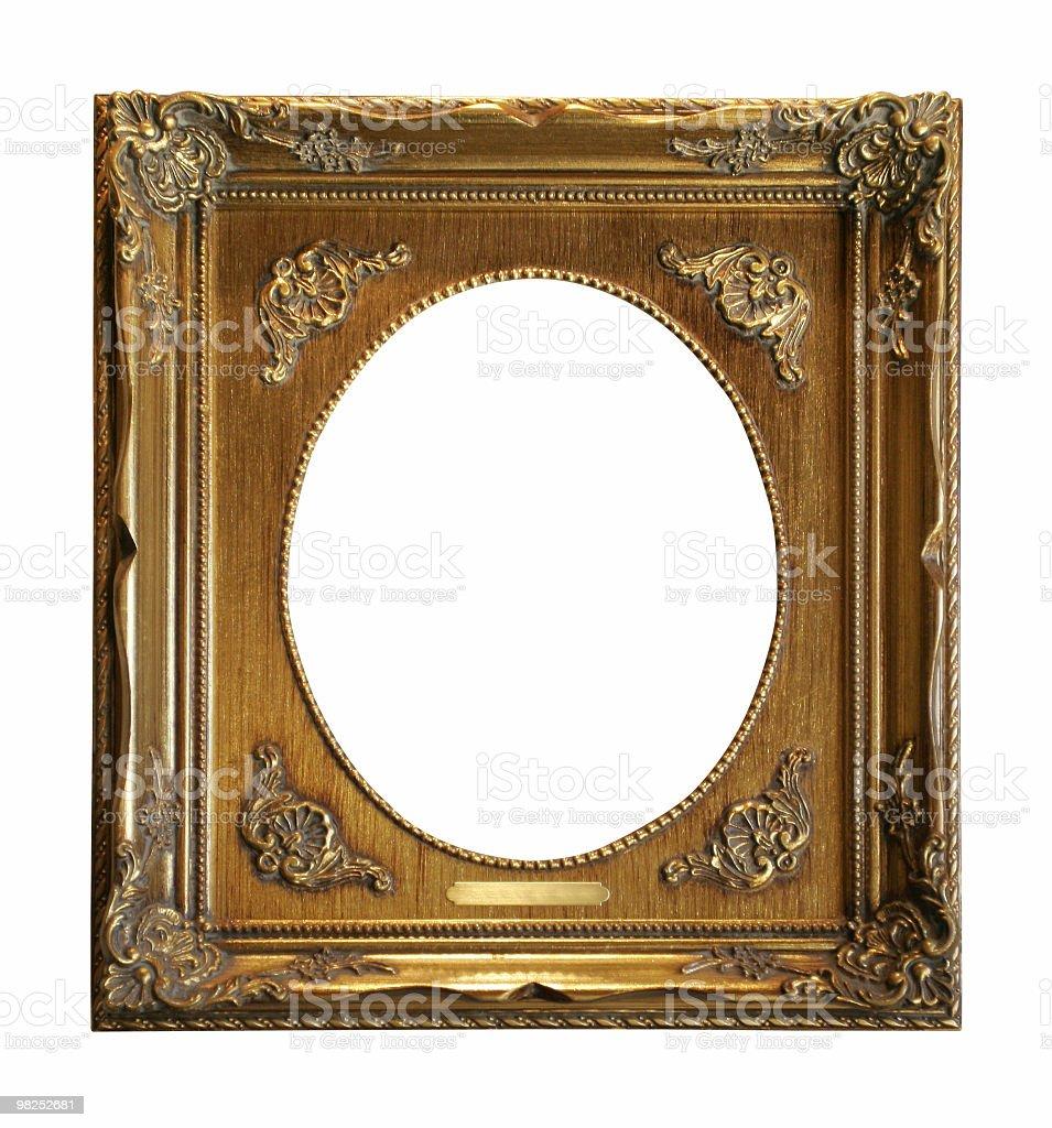 Circle frame inside royalty-free stock photo