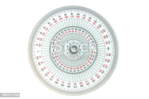 1060723604istockphoto circle measuring equipment 360 degree on white background, transparent protractor 932271316