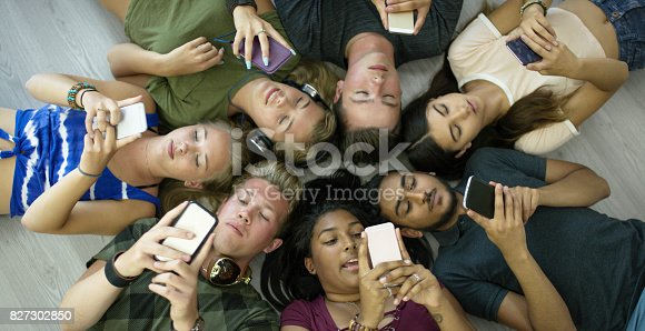 682285858 istock photo Circle Of Classmates 827302850