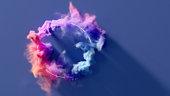 istock Circle of smoke 1221473823