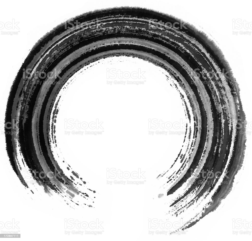 Circle Painting royalty-free stock photo