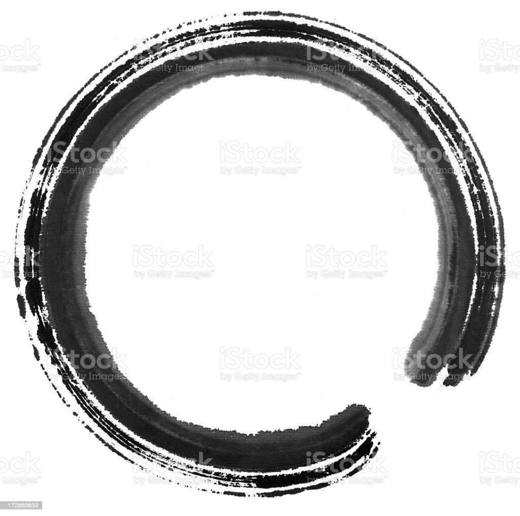 Circle Painting royalty-free stock photo