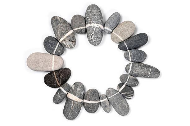 Kreis Form Steinen – Foto
