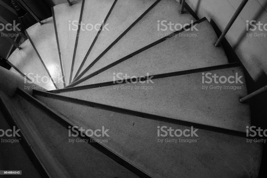 circle spiral staircase royalty-free stock photo