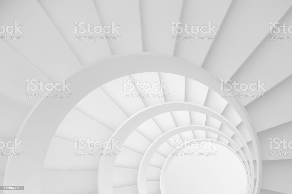 Circle Stairs, Ladder Of Success Concept Royalty Free Stock Photo