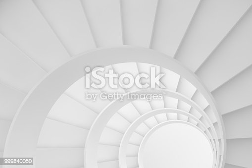 istock Circle Stairs, Ladder of Success Concept 999840050