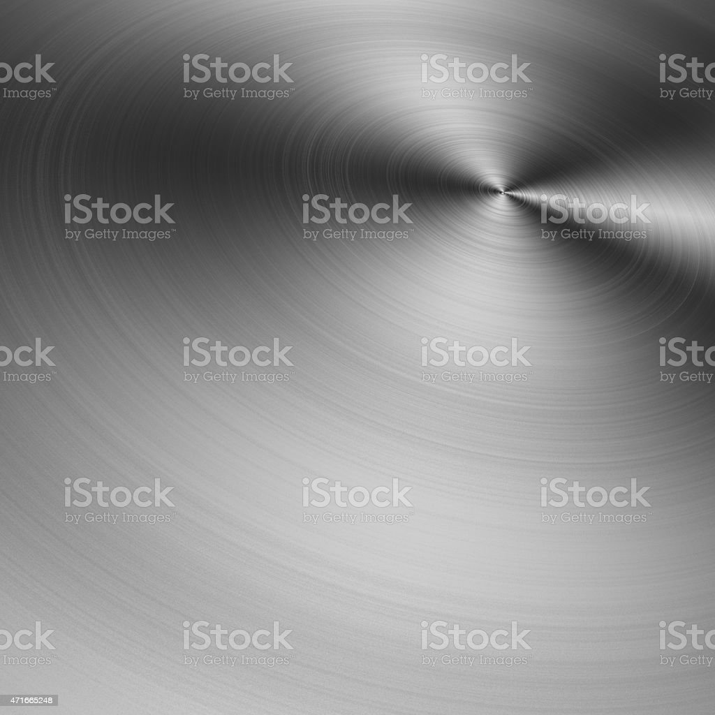 circle steel texture surface stock photo
