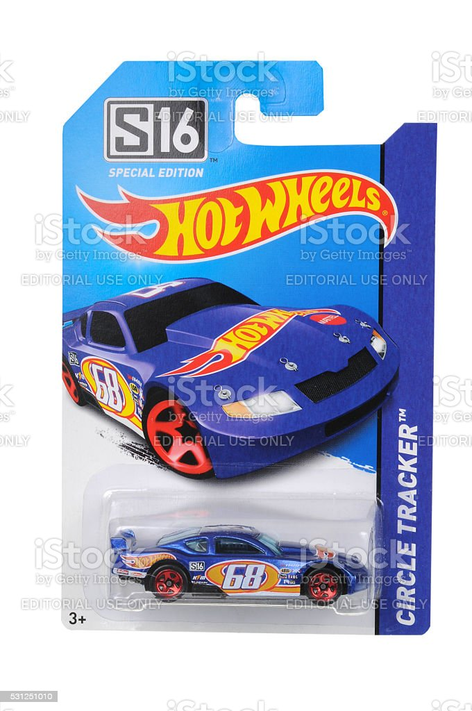 Circle Tracker S16 Special Edition Hot Wheels Diecast Toy Car stock photo