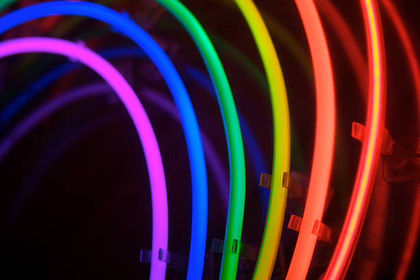 Rainbow Notes On Light Background Stock: Top Rainbow Black Background Stock Photos, Pictures And