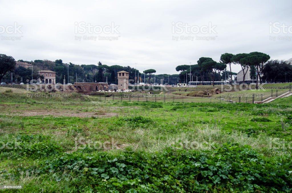 Circo Massimo stock photo