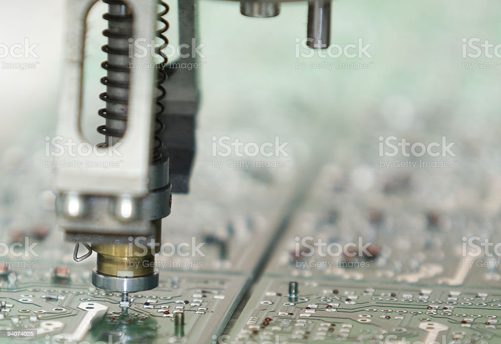 Circuit Boar - Royalty-free Automated Stock Photo