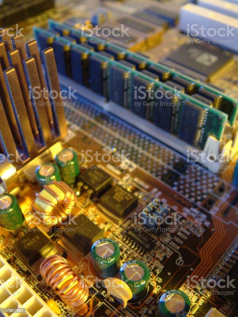 Circuit board 2 royalty-free stock photo