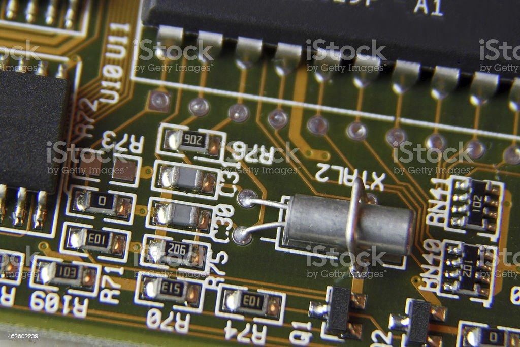 Circuit board 5 stock photo