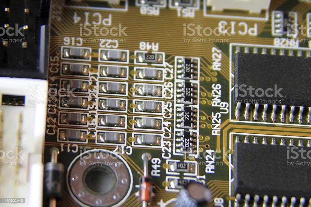 Circuit board 6 stock photo