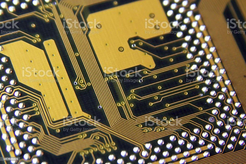 Circuit board 8 stock photo