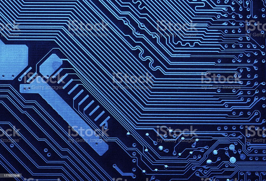 Circuit board background royalty-free stock photo