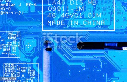 486162999istockphoto Circuit board background 465130193