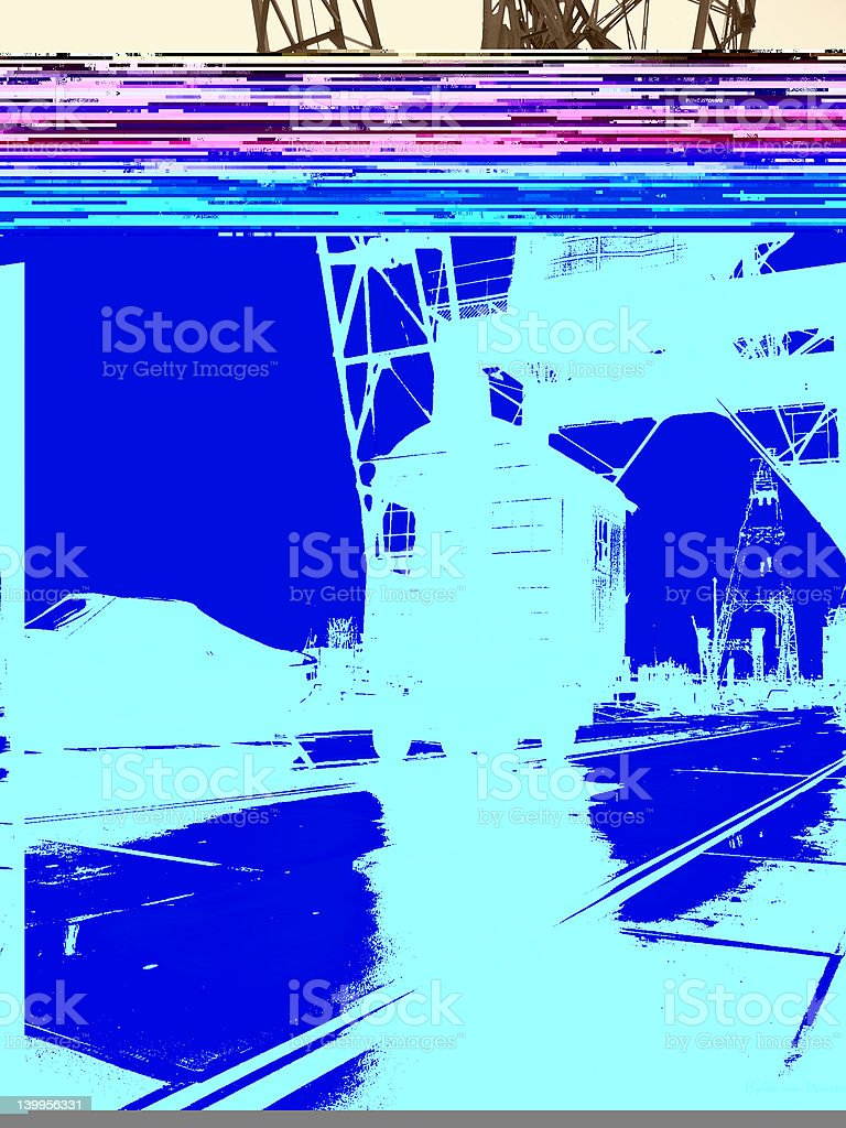 Circuit board close up with space for text royalty-free stock photo