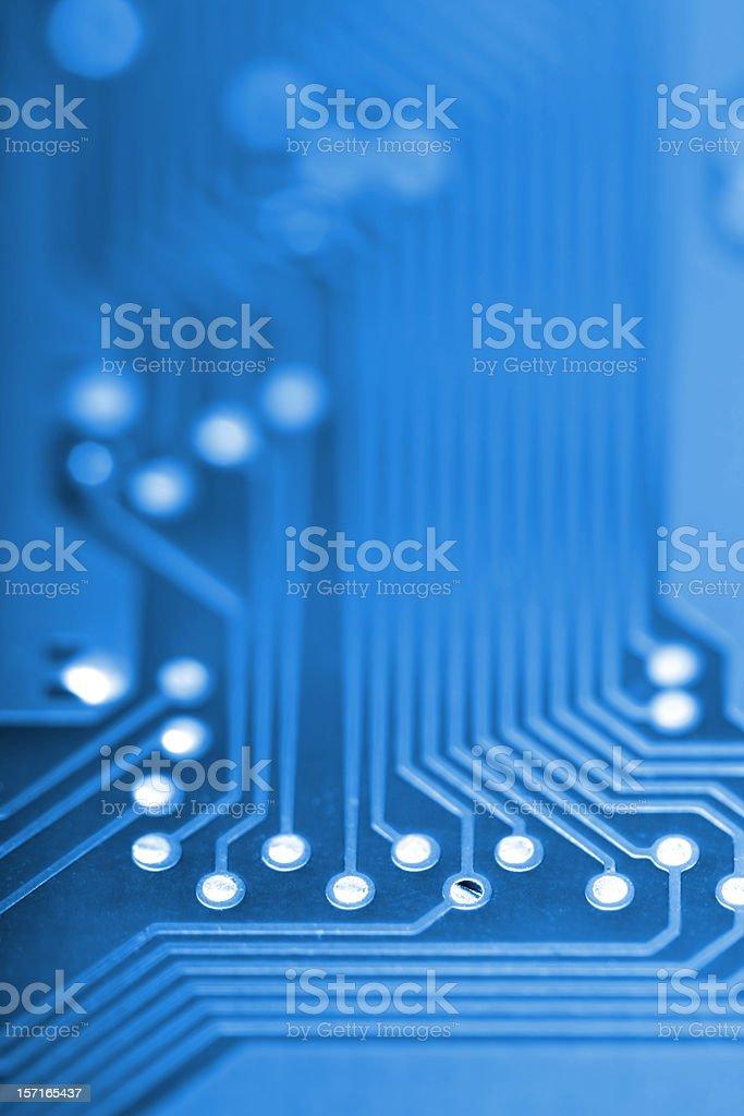 Circuit Board close-up stock photo