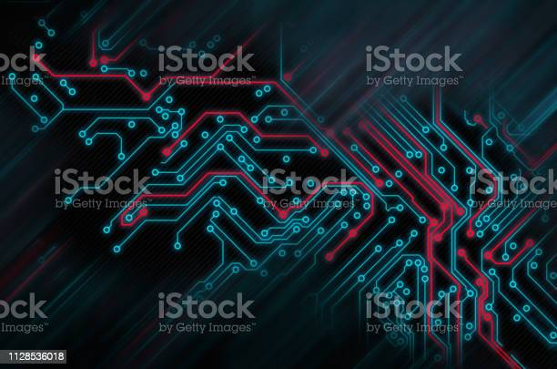 Circuit board futuristic code processing red blue technology on black picture id1128536018?b=1&k=6&m=1128536018&s=612x612&h=1xtptbhjaood3r2i  f6hjcfyzuockmbe0pluzh76qo=