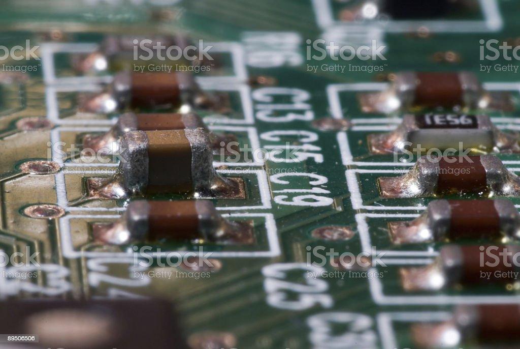 Circuit Board III royalty-free stock photo