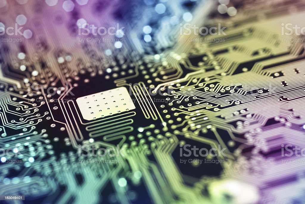 Circuit Board royalty-free stock photo