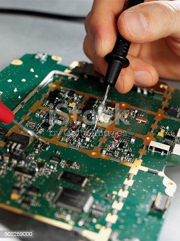 istock Circuit Board 502259000