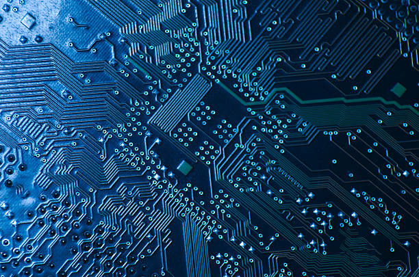 circuit board - mother board stock photos and pictures
