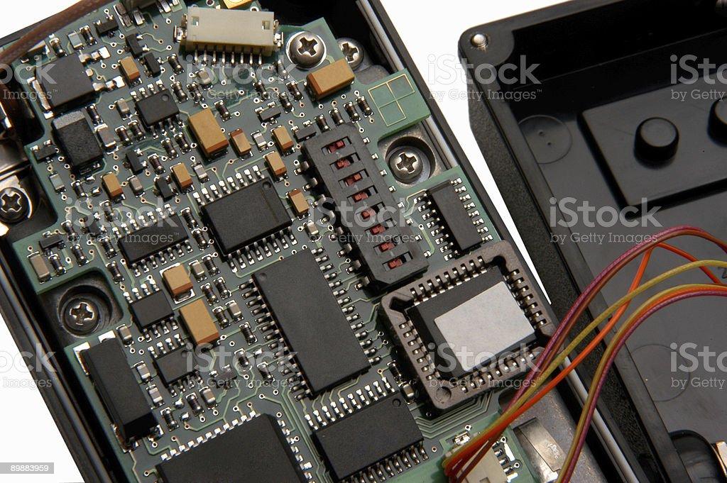 Placa de circuito foto de stock libre de derechos