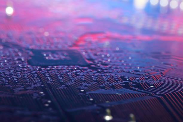 circuit intégré - palm photos et images de collection