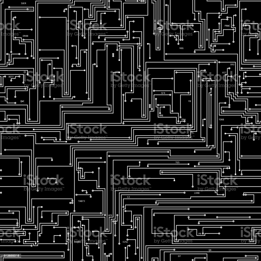 Circuit Board Texture Seamless 02 Stock Photo More Pictures Of Pcb Printed 13 Royalty Free Photos Image