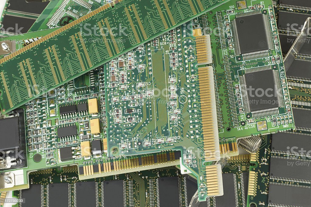 Circuit Boards royalty-free stock photo