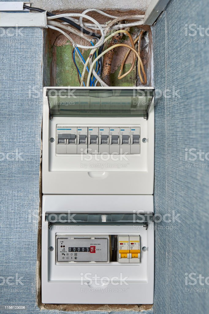 Circuit Breaker Board Of Home Electrical System Stock Photo - Download  Image Now - iStockiStock