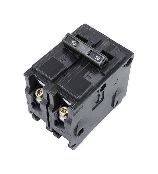 circuit breaker - fuse box stock photos and pictures