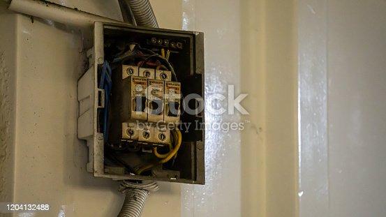 1142476659 istock photo Circuit Breakers 1204132488