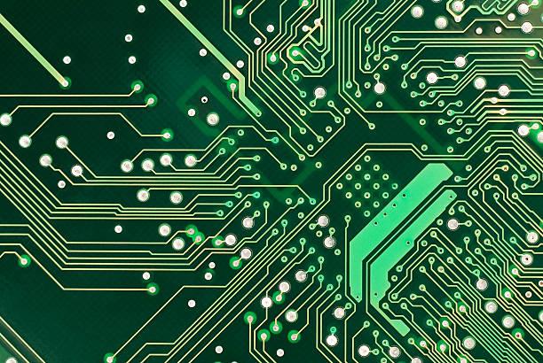 circuito - scheda a circuito foto e immagini stock
