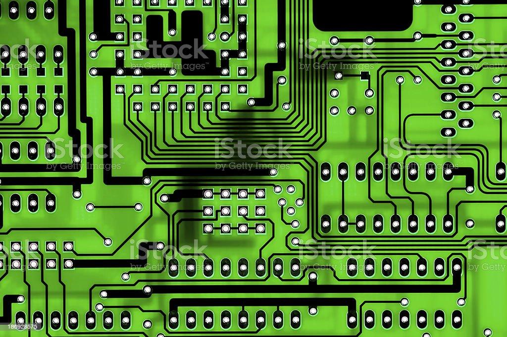 circuitboard royalty-free stock photo