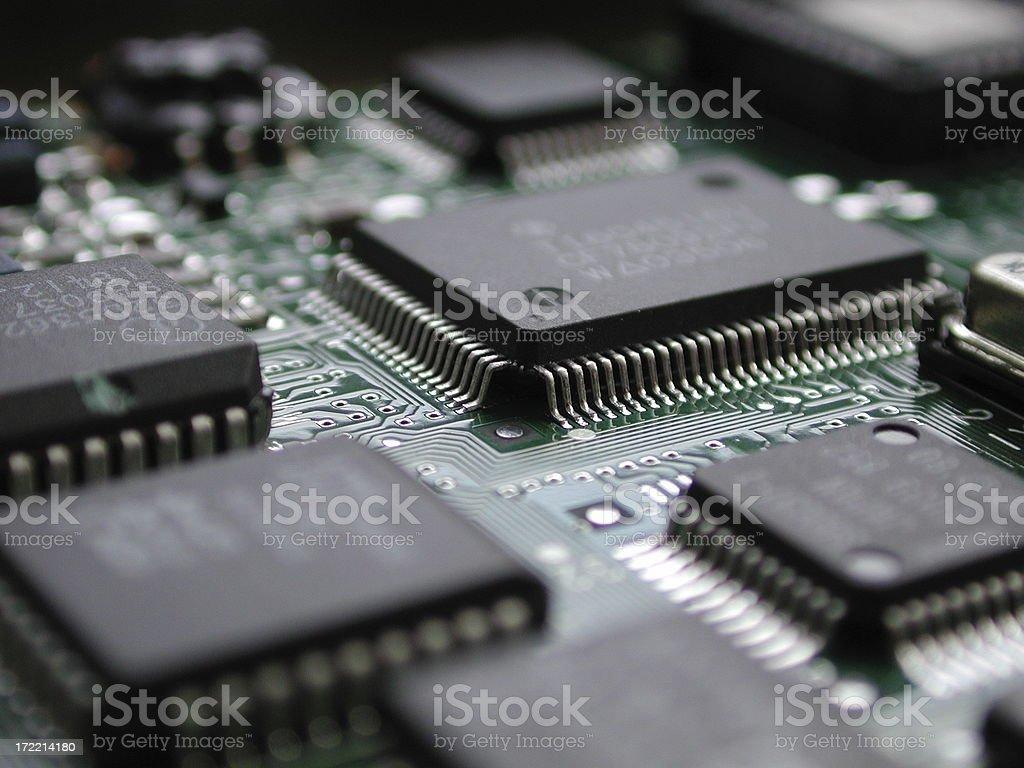 circuits royalty-free stock photo