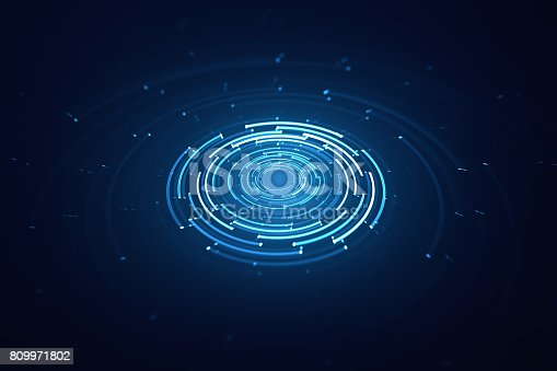 istock 3D circular background 809971802